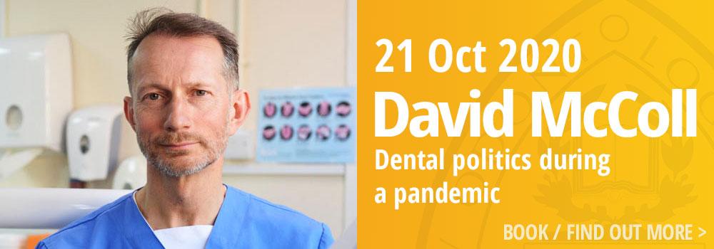 David McColl, 21 October 2020