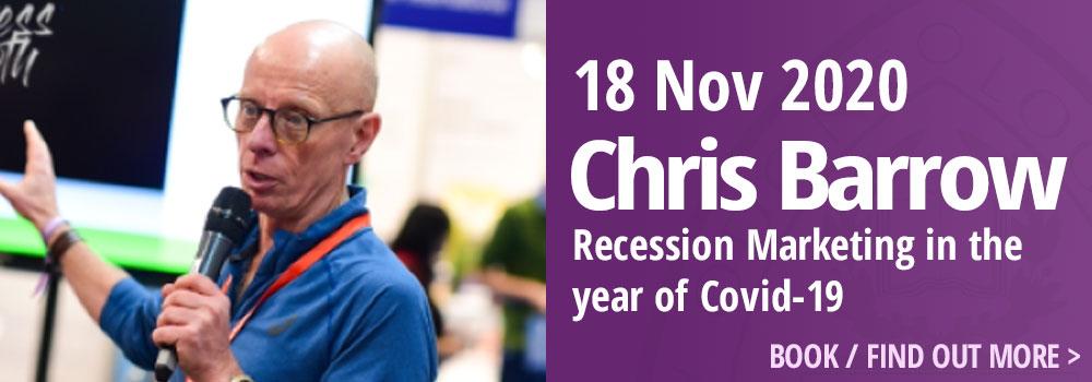 Chris Barrow 18 November 2020