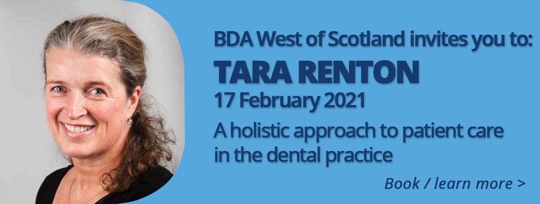 Tara Renton BDA 17 February 2021